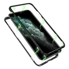 뮤즈캔 아이폰11 프로 마그네틱 풀커버 글라스 케이스_(1758136)