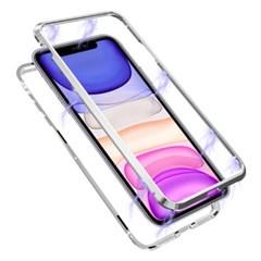 뮤즈캔 아이폰11 마그네틱 풀커버 글라스 케이스_(1758137)