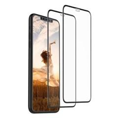 뮤즈캔 아이폰11 3D풀커버 액정강화유리_(1758181)