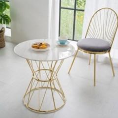 T031 디자인 인테리어 소파테이블 대리석 골드 테이블