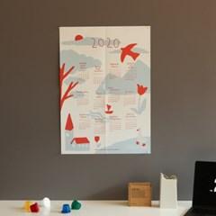 2020 포스터 캘린더 - 02 Peace