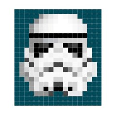 Stormtrooper pixel 180*200(cm)_(1616242)