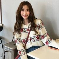 [체리빌레] 삐삐배색 가디건_(2684052)