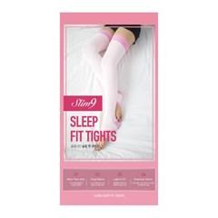 슬립핏 수면 압박 타이즈 핑크 1개