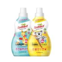 유기농 유아 세탁세제+섬유유연제 세트_(3196216)