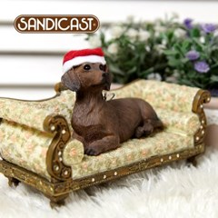 닥스훈트 DACHSHUND (LYING) - RED XSO04406