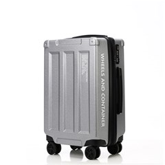 오그램 휠즈앤컨테이너 그레이 20인치 기내용 캐리어 여행가방