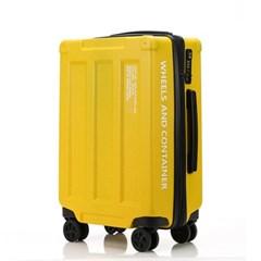 오그램 휠즈앤컨테이너 옐로우 24인치 수하물용 캐리어 여행가방