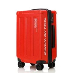 오그램 휠즈앤컨테이너 레드 24인치 수하물용 캐리어 여행가방