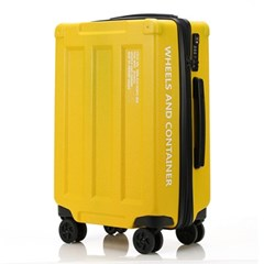 오그램 휠즈앤컨테이너 옐로우 28인치 수하물용 캐리어 여행가방