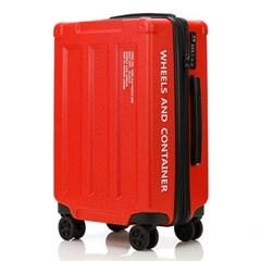 오그램 휠즈앤컨테이너 레드 28인치 수하물용 캐리어 여행가방