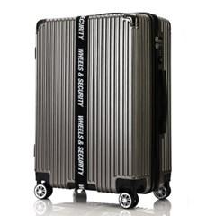 오그램 휠 마스터 그레이 28인치 수화물용 캐리어 여행가방 확장형