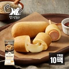 [헬스앤뷰티] 현미 닭가슴살 치즈 핫도그 10팩