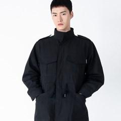 (UNISEX)Safari Multi Field Jacket(BLACK)