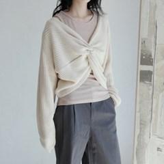 twist knit top (4colors)_(1368109)