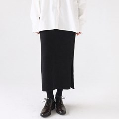 blank h-line knit skirts (3colors)_(1368906)
