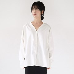 back and forth cotton blouse (2colors)_(1368905)
