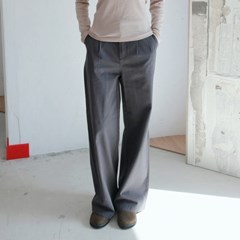 relaxed pintuck wide pants (2colors)_(1368122)