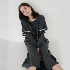 [w] Grey Flannel One-piece