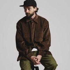 [코듀로이]CORDUROY #2 shirts jacket_BROWN