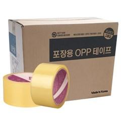 국산 택배 박스테이프 아크릴 투명 한박스 30개