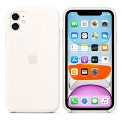 iPhone 11 실리콘 케이스 - 화이트 MWVX2FE/A