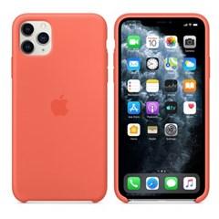 iPhone 11 Pro Max 실리콘 케이스 - 클레멘타인 오렌지 MX022FE
