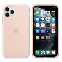 iPhone 11 Pro 실리콘 케이스 - 핑크샌드 MWYM2FE