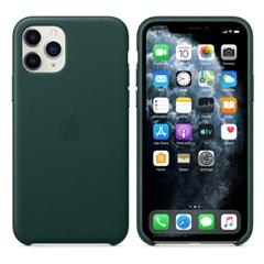 iPhone 11 Pro 가죽 케이스 - 포레스트 그린 MWYC2FE