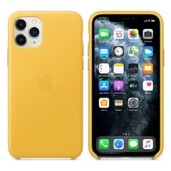 iPhone 11 Pro 가죽 케이스 - 메이어 레몬 MWYA2FE