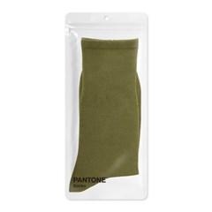 팬톤삭스 모스 그린 Moss Green 단색 컬러 장목 양말