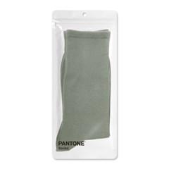 팬톤삭스 미들그레이 Middle Gray 단색 컬러 장목 양말