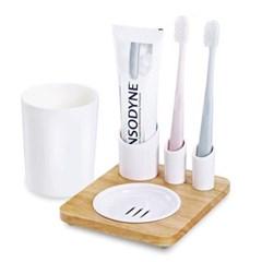 칫솔 치약 면도기 자취생 욕실 오거나이저 D819_(1105174)