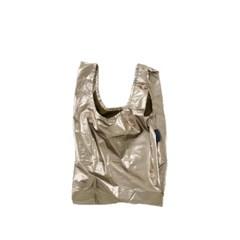 [바쿠백] 소형 베이비 에코백 장바구니 Bronze Metallic_(1797853)