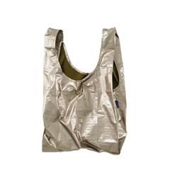 [바쿠백] 휴대용 장바구니 접이식 시장가방 Bronze Meta_(1797848)