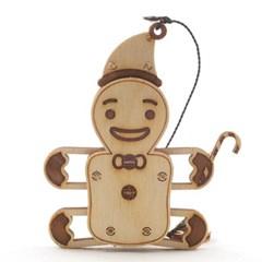 [WOODTRICK] 크리스마스 눈사람 (WDT190401) 3D 목재 퍼즐
