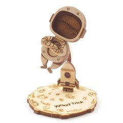 [WOODTRICK] 우주 비행사 (WDT190418) DIY 우드토이 3D 목재 퍼즐