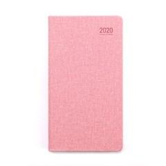 20년 캐주얼 플래너 1W48B 핑크