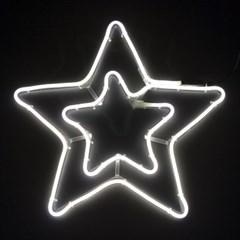 네온플렉스 별 40cm 백색 크리스마스 전구 TRDELB_(1577641)