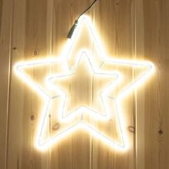 네온플렉스 별 40cm 웜 크리스마스 전구 장식 TRDELB_(1577640)