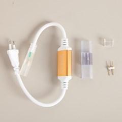 LED 네온플렉스 전원코드선 (단색용) 전구 TRDELB_(1577637)
