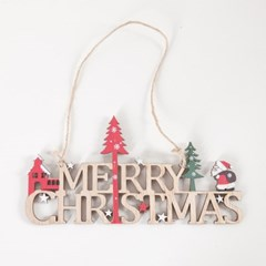 우드하우스트리글자 22x11cm 크리스마스 장식 TROMCG_(1577572)