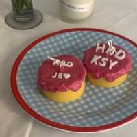 이니셜 케이크 캔들 6color 4scent