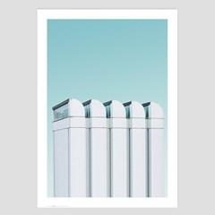 미니멀 건축사진 인테리어 포스터 vol.1(바우하우스 루프)