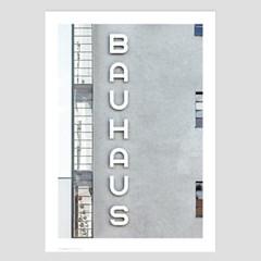 미니멀 건축사진 인테리어 포스터 vol.1(바우하우스 사인)