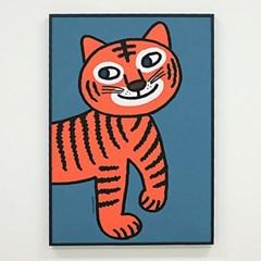 굴리굴리포스터 / Orange Tiger (023)