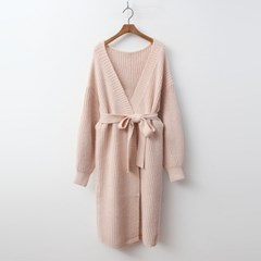 Wool Shawl Long Cardigan