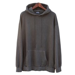 pigment damage hoodie (charcoal)