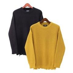 damage knitwear (2color)