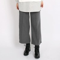 PINTUCK PANTS (GREY)
